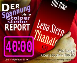 Lena Stern: Thanatos - Ulli Stein | Spannung ohne Stolpersteine