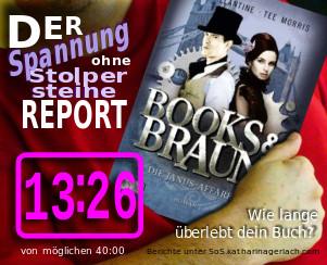 Books & Brown: Die Janus-Affäre - Pip Ballantine, Tee Morris | Spannung ohne Stolpersteine